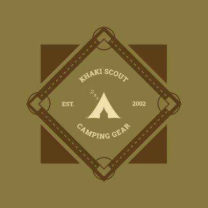 Camping Logo Maker 1371d