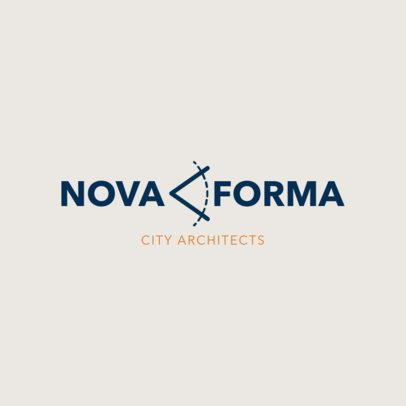 Logo Design Template for Architects 1419