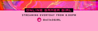 Twitch Banner Maker for a Streaming Channel 594e