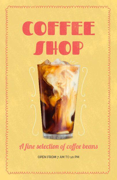 Cafe Online Flyer Maker 404c