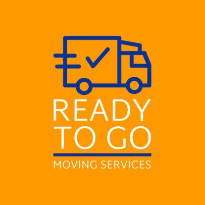 Removalist Services Logo Creator 1387e