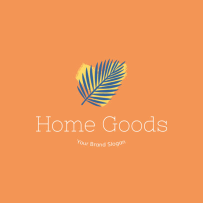 Crafts Logo Maker for Home Decor Store 1404e
