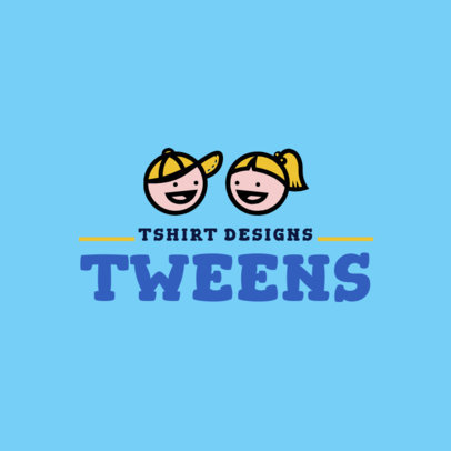 Tween Brand Logo Maker 1322c
