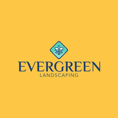 Logo Creator for Landscaping Services 1422a