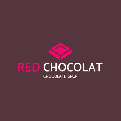 Chocolate Shop Online Logo Maker 1392c