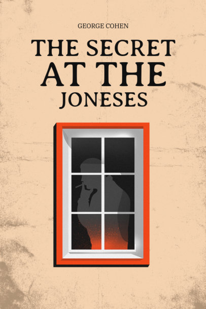 Psychological Thriller Book Cover Template 519a