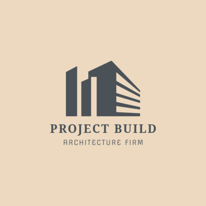 Logo Creator for Building Firm 1421b