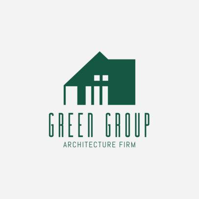 Architectural Design Firm Logo Maker 1421d