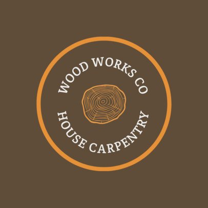 Carpentry Logo Generator 1428d