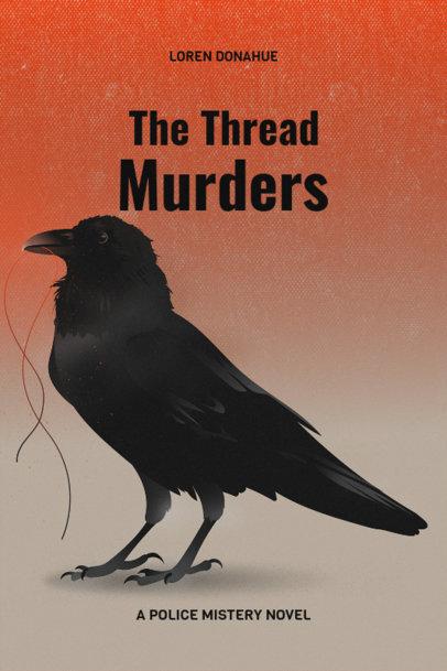 Murder Mystery Book Cover Maker 519d