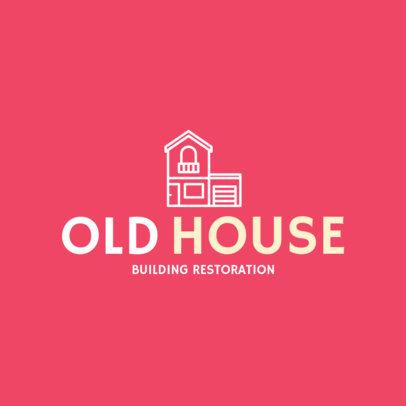 Building Restoration Online Logo Maker 1431c