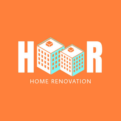 Home Renovation Online Logo Maker 1432a