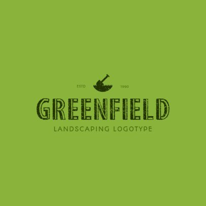 Logo Maker for a Landscaping Company 1426c