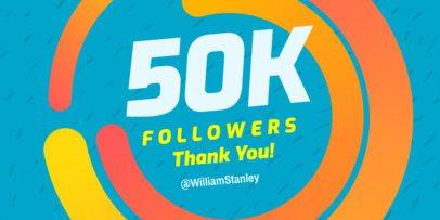 Twitter Post Maker for Follower Thank You Message 613e