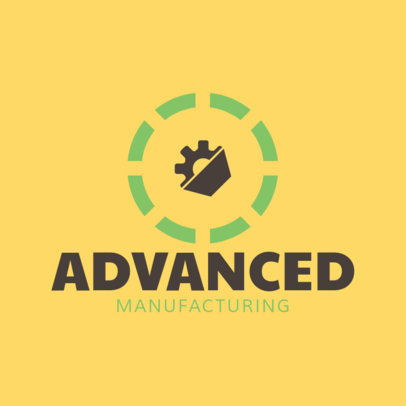 Logo Creator for Advanced Manufacturing 1417d