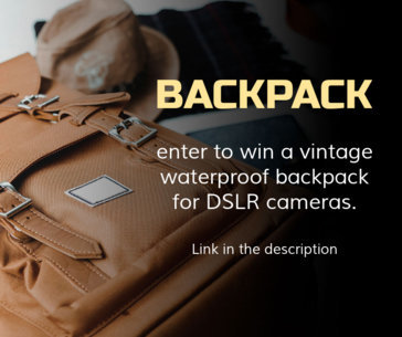 Camera Backpack Giveaway FB Post Maker 635c
