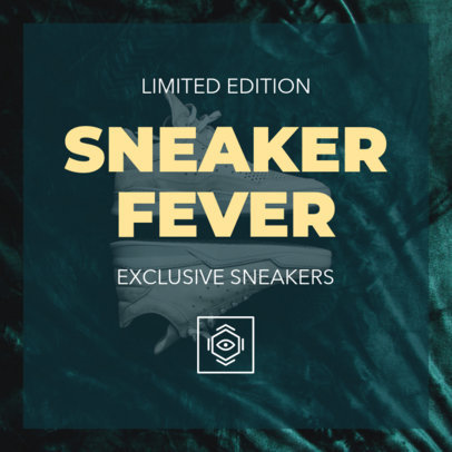 Instagram Post Template for a Sneaker Fever Promotion 634c