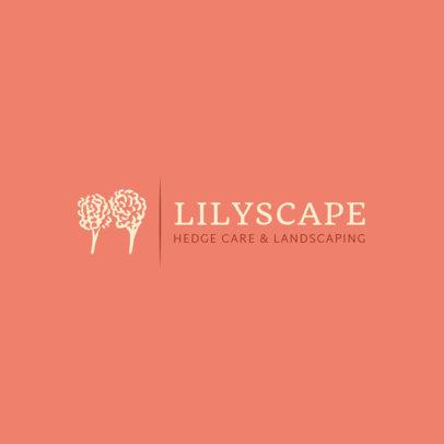 Hedge Care Logo Design Template 1425d