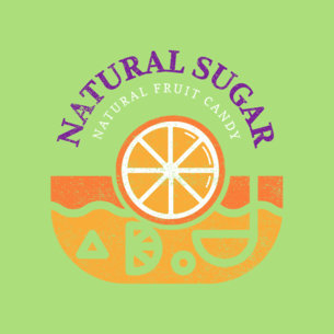 Natural Candy Store Logo Maker 1391c