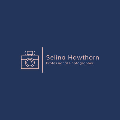 Photography Logo Design Creator 1498a