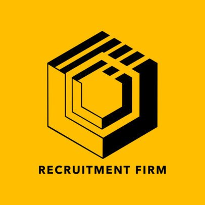 Logo Generator for Recruitment Firms 1444c
