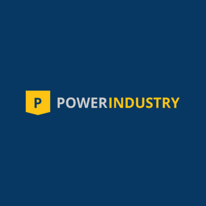 Logo Maker for Power Industry 1416b