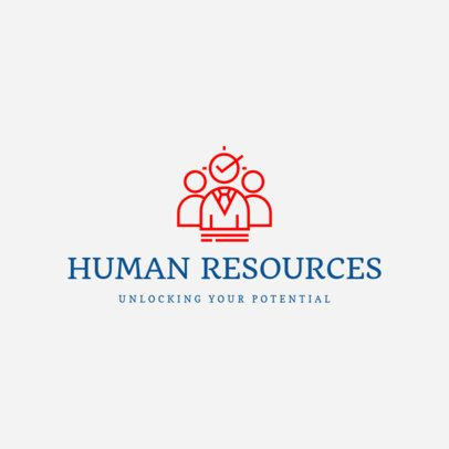 Logo Generator for a Human Resources Company 1452c