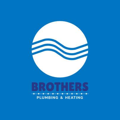 Logo Generator for Plumbing Services 1450e