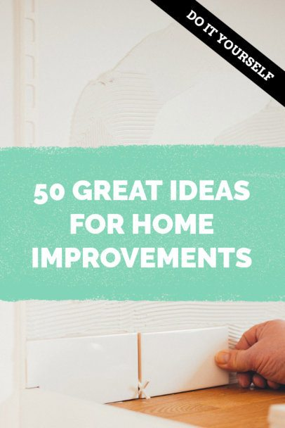 Home Improvement Pinterest Pin Template 663c