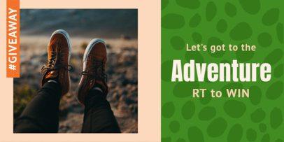 Twitter Post Maker for Adventurous Giveaway 623d