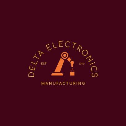 Logo Maker for a Manufacturing Company 1415e