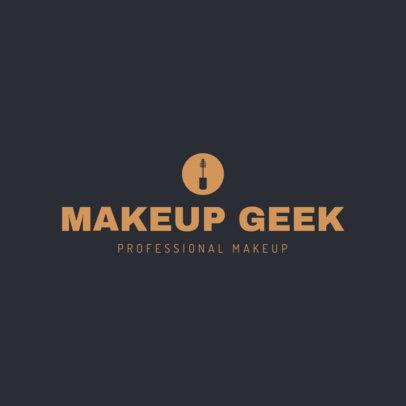 Professional Makeup Logo Maker 1465d