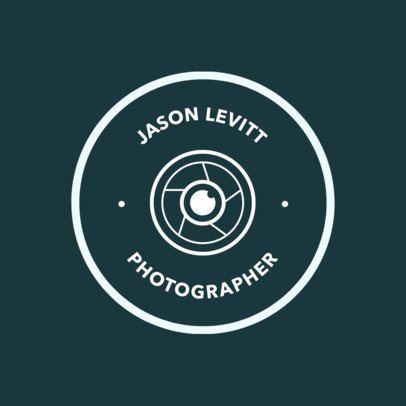 Professional Photographer Logo Design Template 1438