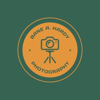 Minimalist Photography Logo Creator 1438d