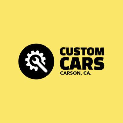 Logo Template for Custom Car Shop b1407