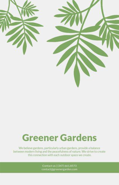 Simple Landscaping Flyer Maker 674b