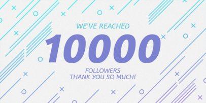 Twitter Post Maker for a Followers Milestone Post 625e