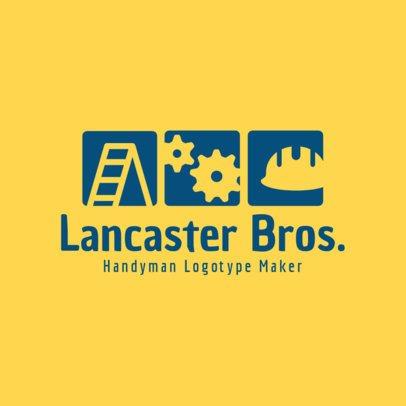 Handyman Logotype Maker 1429a