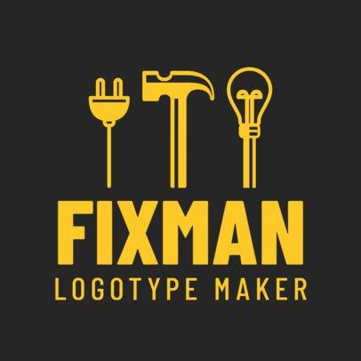 Logo Maker for a Handyman 1429b