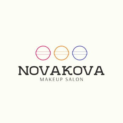 Makeup Studio Logo Design Template 1469e