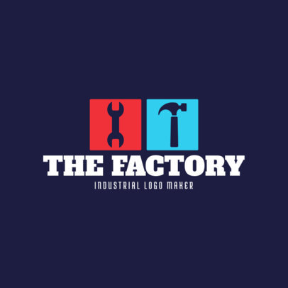 Industrial Manufacturing Logo Template 1414b