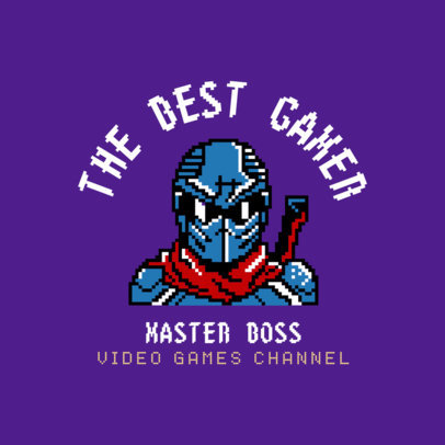 Video Game Channel Logo Maker 1457