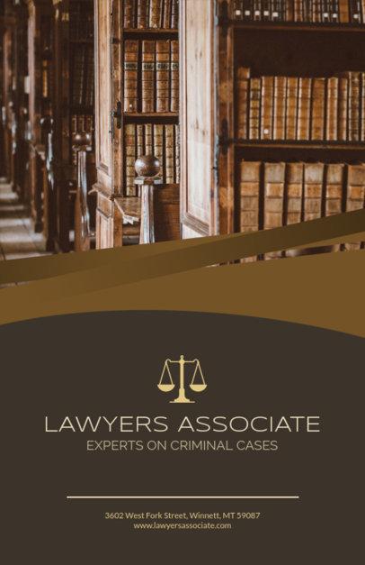 Flyer Maker for Criminal Law Experts 691a