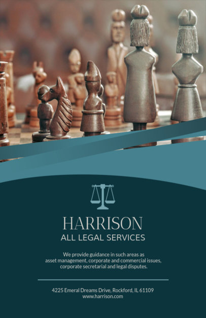 Flyer Creator for Legal Services Firm 691c