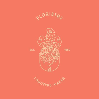 Floral Logo Template for a Florist 1269