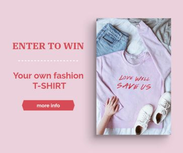 Fashion Giveaway Facebook Post Template 645a