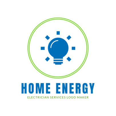 Electrician Logo Template 1476