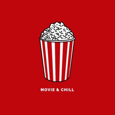 Popcorn Phone Grip Template 676a