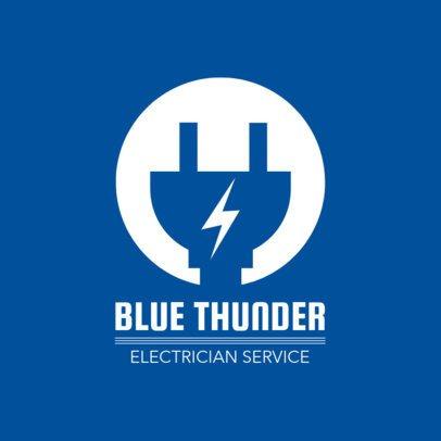 Electrician Service Logo Template 1473d