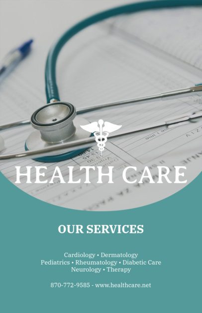 Health Care Flyer Maker 409b